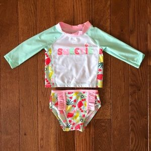 Other - 6-9 Mo Swimsuit for Baby Girl